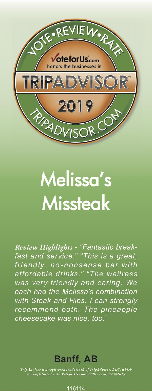 Melissas Missteak - Original Banff Steakhouse